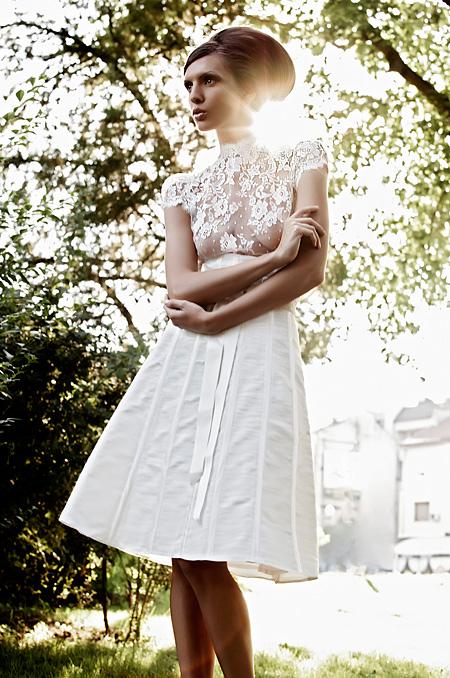 Свадебные платья Princess Fashion. Короткое